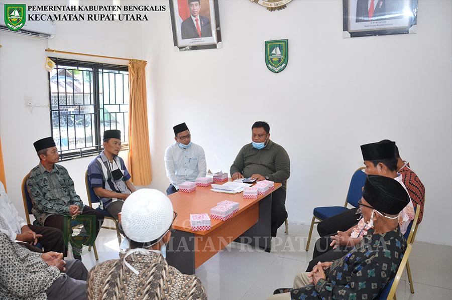 Camat Rupat Utara Pimpin Langsung Rapat Menghadapi Bulan Suci Ramadhan